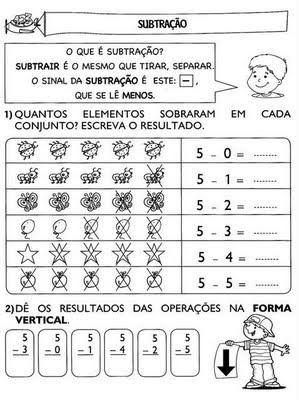realizando%2520as%2520subtra%25C3%25A7%25C3%25B5es Atividades de Matemática: adição e subtração para crianças