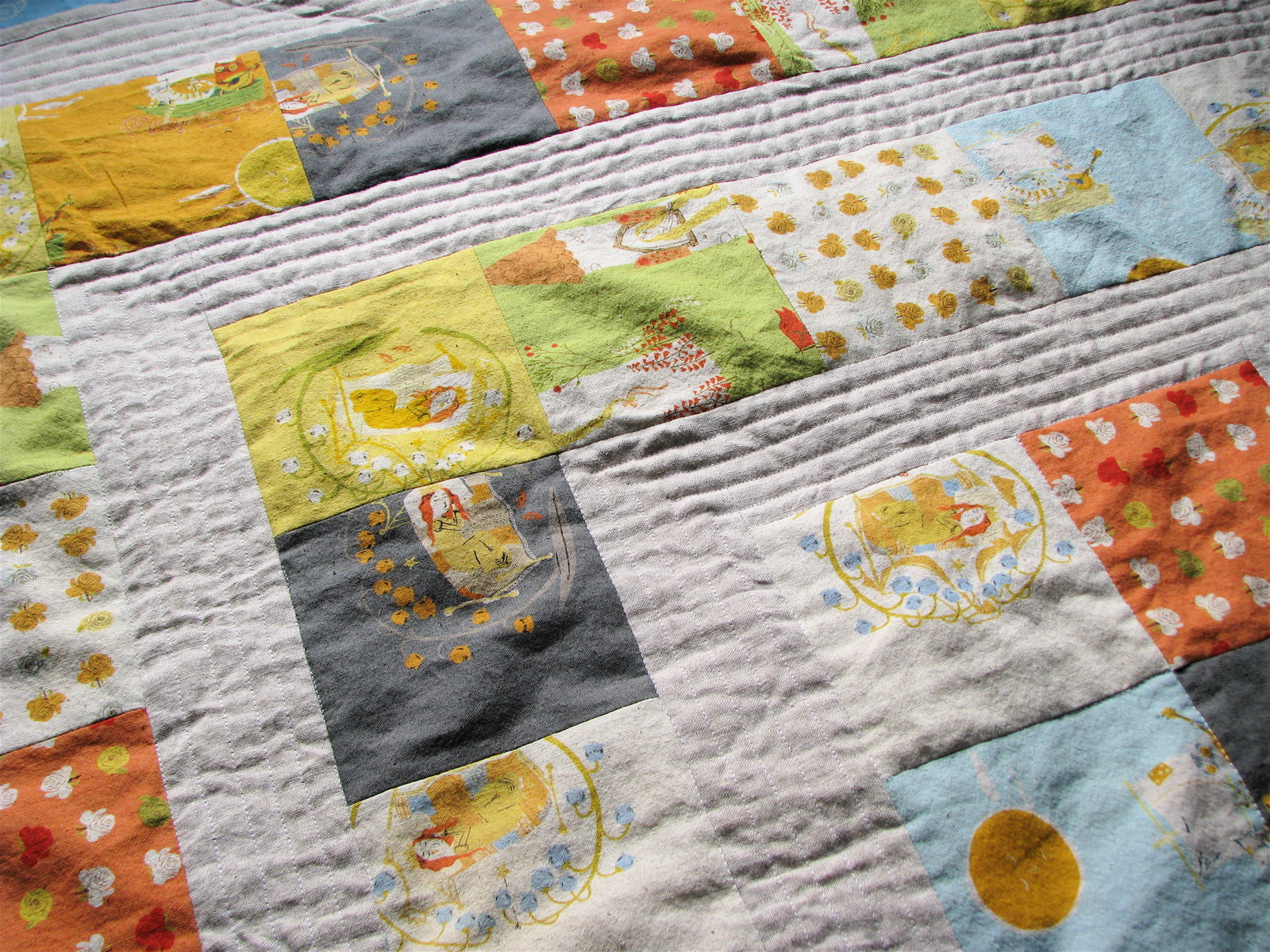 Finito storytime squares quilt in far far away ii made by rae storytime squares quilt in far far away ii jeuxipadfo Gallery