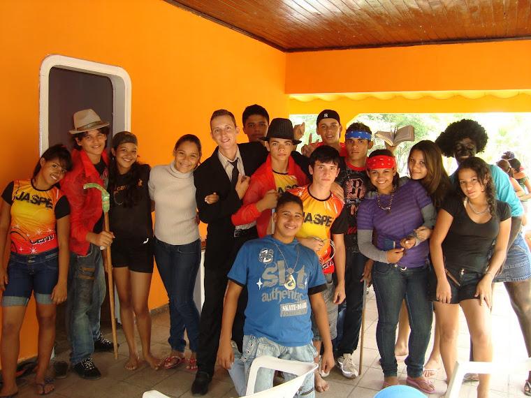Membros da Equipe Jaspe no Passeio dos Adolescentes