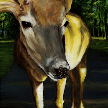 Nicole's Deer -- Original Sold