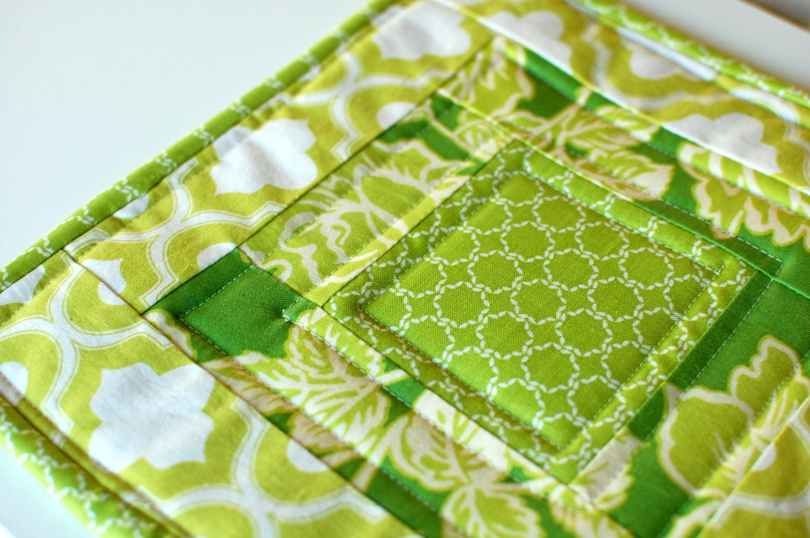 12 Days Of Handmade Christmas Day 4quilted Potholder Lifeingrace