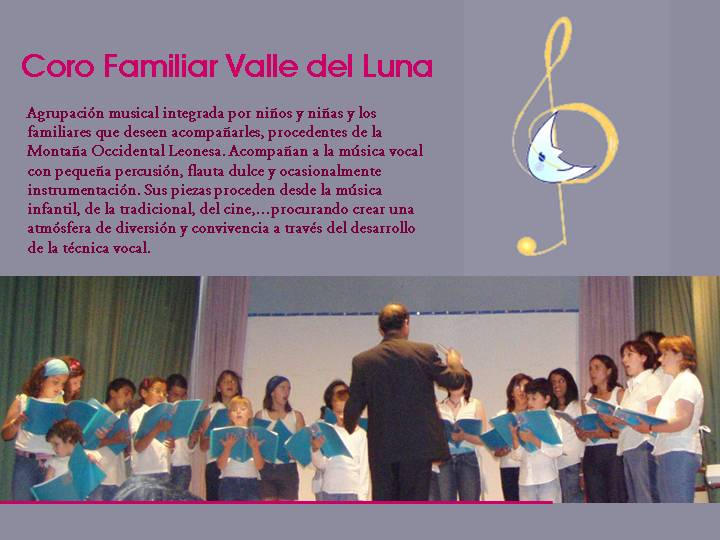 Coro Familiar Valle del Luna