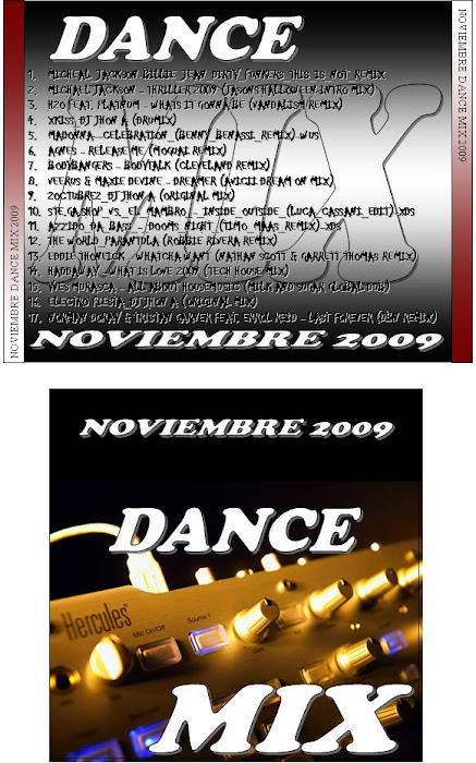 Dance Mix Noviembre 2009