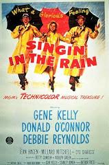 """""""Cantando bajo la lluvia"""". S.Donen, 1952"""