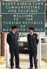 Frontera muro, dos Chipres.