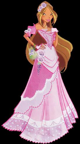 Winx club heaven flora - Princesse winx ...
