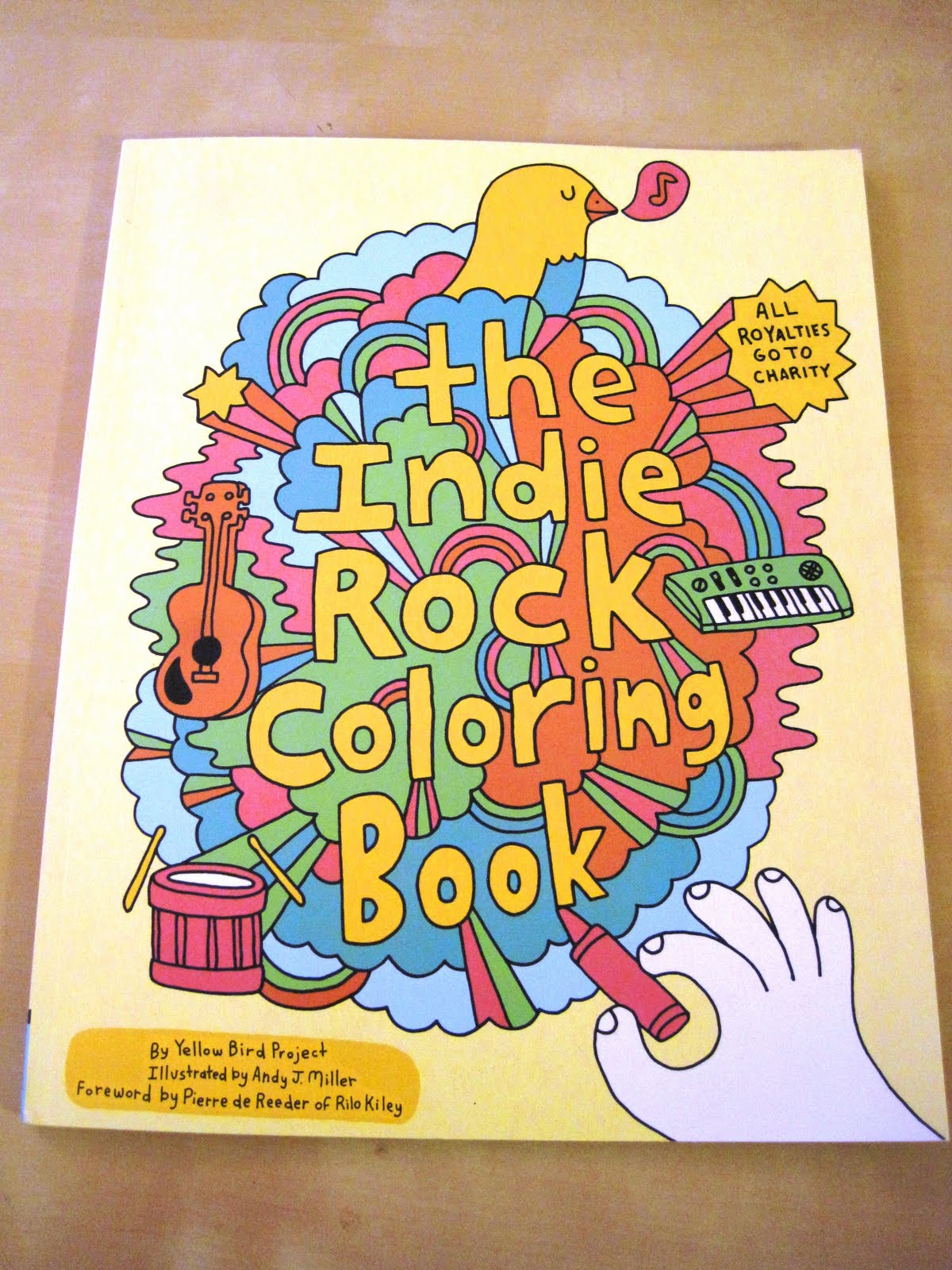 panda mum and an indie rock coloring book - The Indie Rock Coloring Book