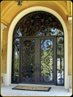 Your Main Entry Door Is Not The Only Place In Your Home That You Can Have Wrought  Iron Doors. Patio Or French Doors Look Stunning And Can Be A Mixture Of ...