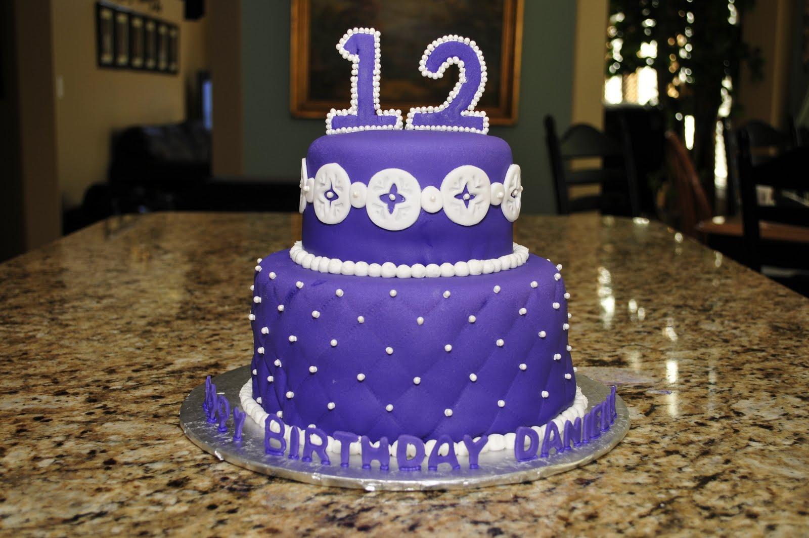 Birthday Cake For Little Sister ~ Lindsay's custom cakes: danielle's birthday cake