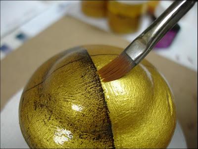 Art by chela imitaci n dorado a la hoja paso a paso for Con que se limpia el marmol manchado
