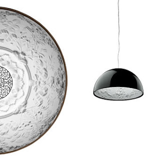 Flos Skygarden Suspension Pendant in Black finish