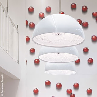 Flos SkyGarden Pendant in White finish