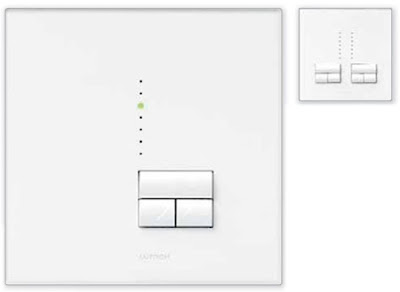 The Lutron Rania Dimmers - digital Rania dimmers
