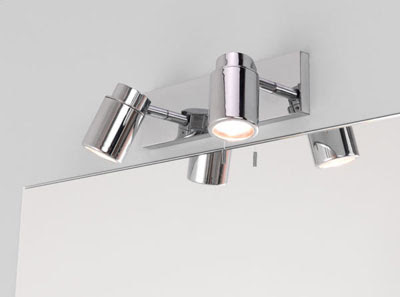 Astro 6121 - Como Bar two light Surface Spotlight, AX6121 double wall spot light