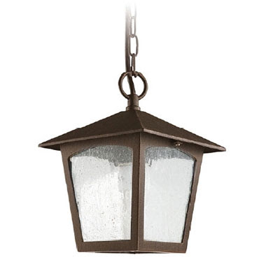 The LX195 Edipo Outdoor Pendant Light, Bronze Hanging Lantern IP23 rated