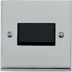 Heritage Brass LP1.8990 - The Richmond Elite low profile Triple Pole 6 Amp Fan Isolating Switch