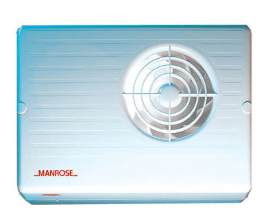 Manrose CF200T - Manrose 100MM Centrifugal Fan With Integral Timer