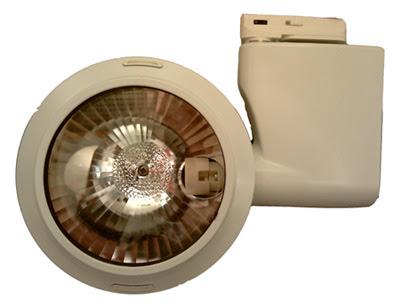 Cheaper Single circuit Concord track spotlight, the Torus 20FX CDM 2031804 ceramic metal halide - £65!