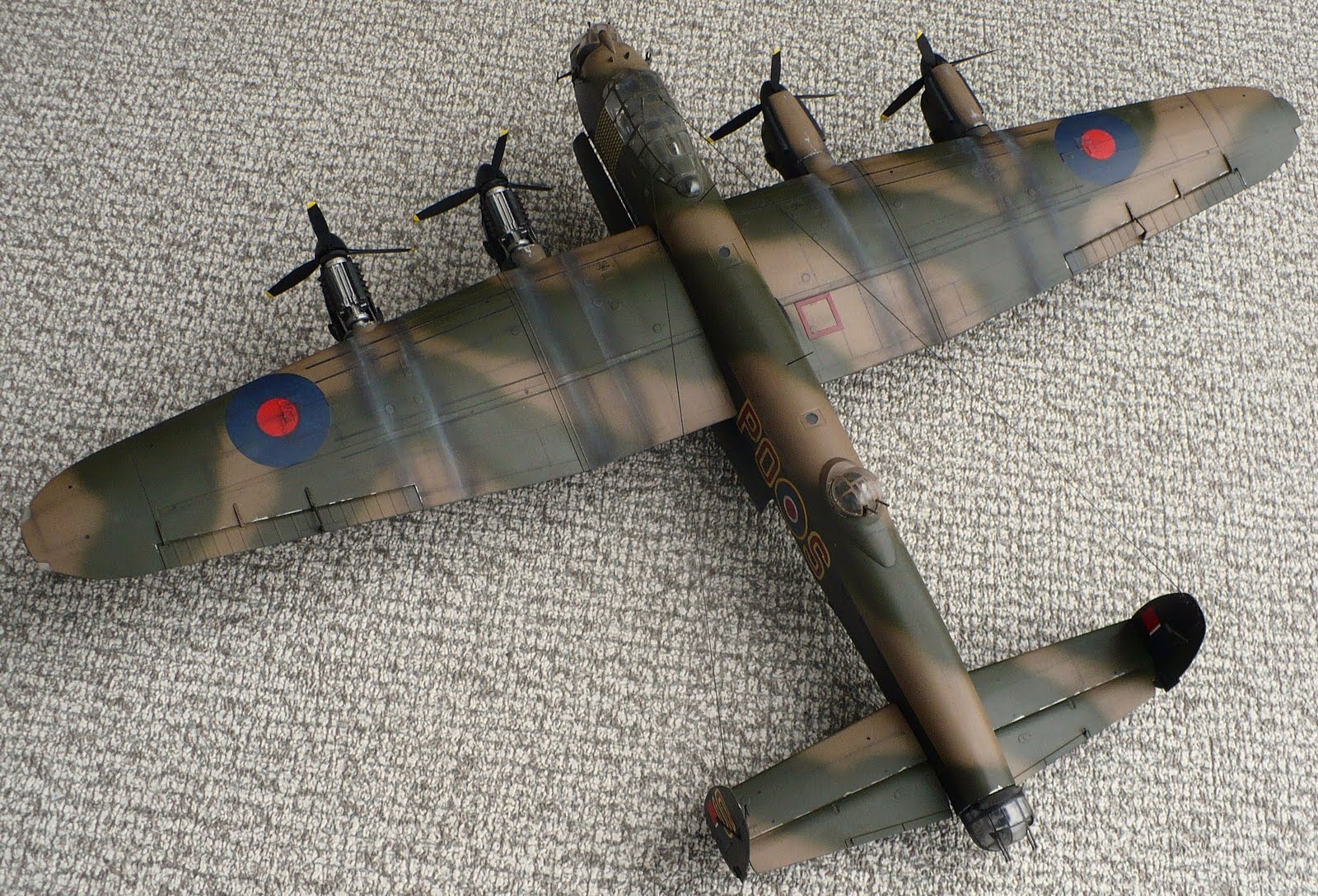 the great canadian model builders web page   lancaster re post