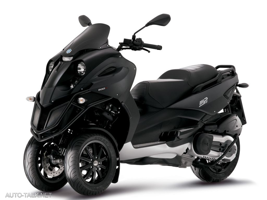 piaggio mp3 from vespa cars and motorcycles. Black Bedroom Furniture Sets. Home Design Ideas