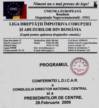 Conferinta LDICAR -EUROPA- 2009