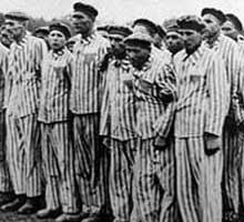Retenidos en un campo de concentración