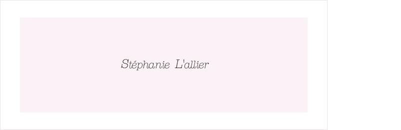 Stéphanie L'allier