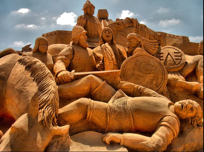 Cool Articles The Best Of Sand Sculptures