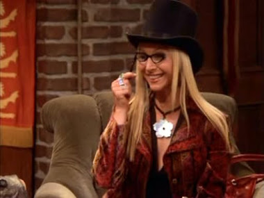 Phoebe Buffay : quirky, radiant, fashionable, funny !