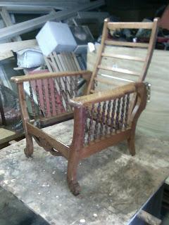 Beautiful Restored Morris Chair