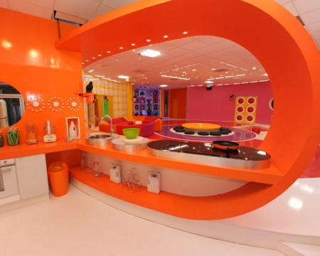 The deco house la deco design orange for Interieur de cuisine