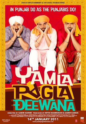 Yamla Pagla Deewana (2010) Movie Poster