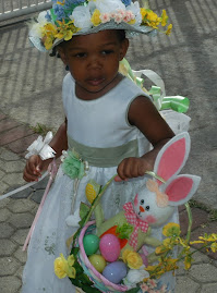 My sweet girl at Easter