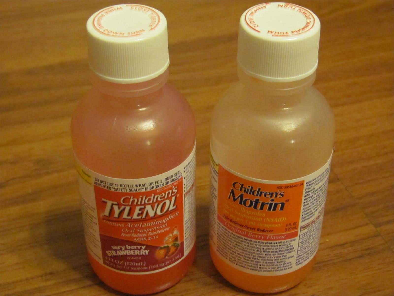 Tylenol Bottle