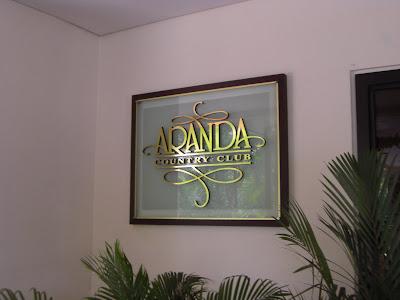 Aranda Country Club Function Room Rates