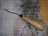 вышивание, вышивка, понятия и термины вышивания, ковровая техника вышивания крючком