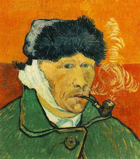Van Goghs Paintings Are Full Of Complementary Colors In This Self Portrait He Used Split Color Sets G YO RO