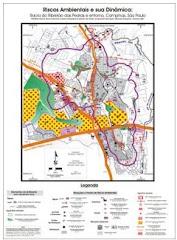 Mapa de Riscos Ambientais na Bacia do Ribeirão das Pedras