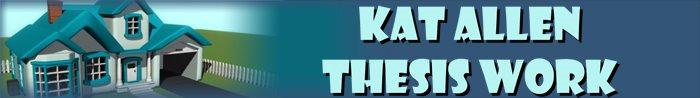 Kat Allen Thesis Blog
