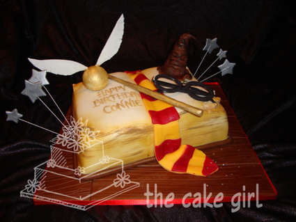 the cake girl December 2010