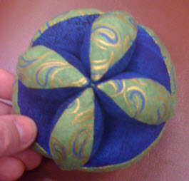 Crochet Amish Puzzle Ball Pattern - Look At What I Made