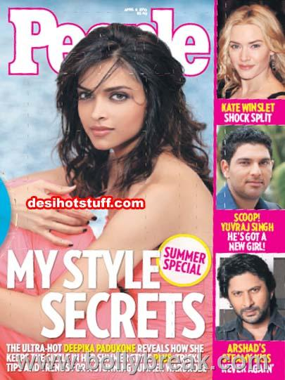 , Deepika padukone on the cover of People Magazine