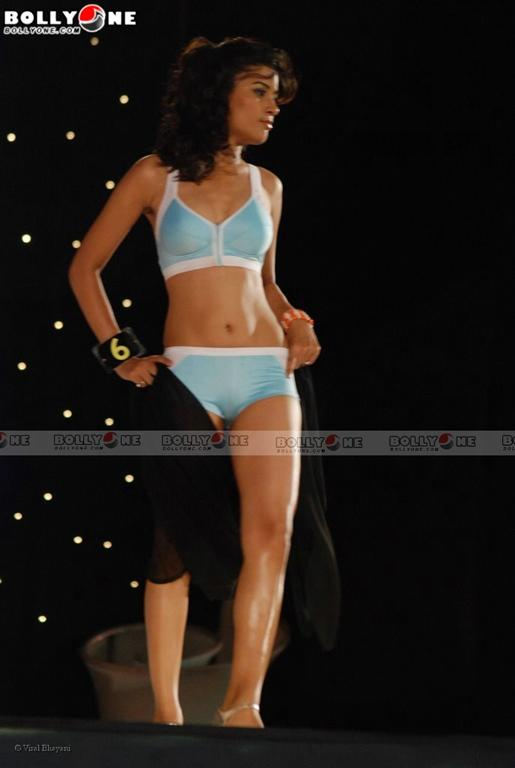 , Indian Models in Bikini Ramp Walk