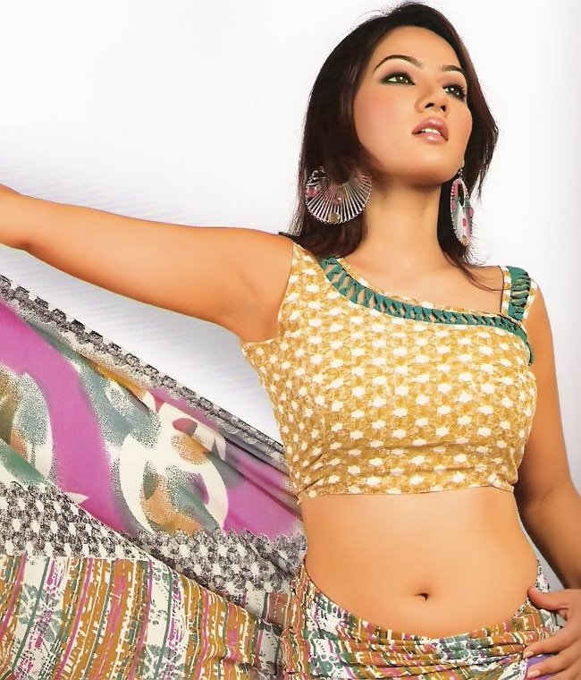 , Indian Models in Saree - 2