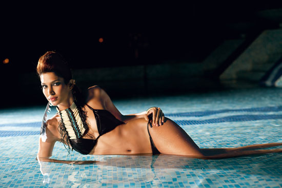 , Mashoom Singha Bikini Pics | Mashoom Singha Man's World Bikini  PhotoShoot Pictures, Scans