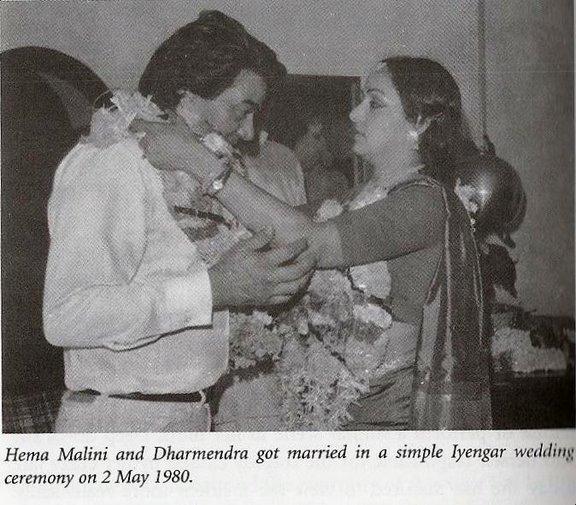 , Hema Malini Dharmendra wedding photos | Dharmendra Hema Malini Rare  Marriage Pictures