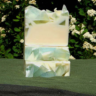 Glacier peppermint soap