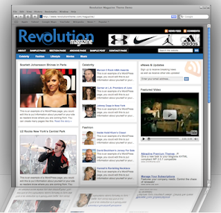 revolution magazine theme
