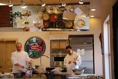 Mirror observation Santa Fe School of Cooking