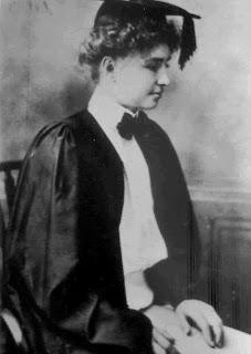Helen Keller, Radcliffe, 1904